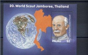 2002 Palau Scouts Jamboree Baden Powell SS