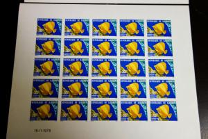 Djibouti Stamp # 483-4 Intact Imperf XF OG NH Sheets of 25 Rare offer
