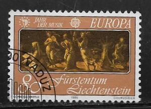 LIECHTENSTEIN, 805, USED, EUROPA