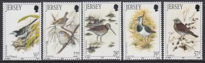 582-86 Winter Birds MNH