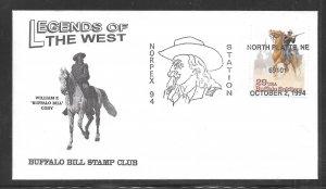 Just Fun Cover #2818 Norplex 94 Station North Platte Ne OCT/2/1994 (my4699)