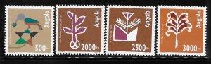 Angola 1994 Quioca Art Sc 895-898 MNH A1271
