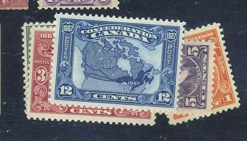 Canada #141-5 MINT F-VF OG NH 143 Waterspot Cat$81.25