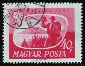 Hungary #1250 Vintager and Lake; CTO (0.25)