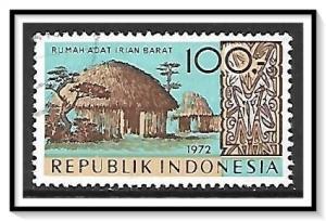 Indonesia #833 West Irian House Used