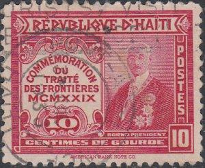 Haiti #321 Used