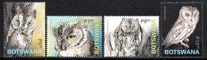 Botswana - 2020 Owls Set MNH**