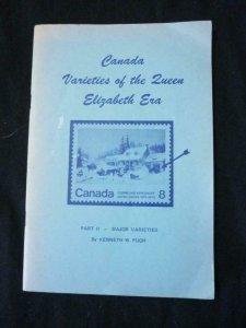 CANADA VARIETIES OF THE QUEEN ELIZABETH ERA PART II MAJOR VARIETIES by K PUGH