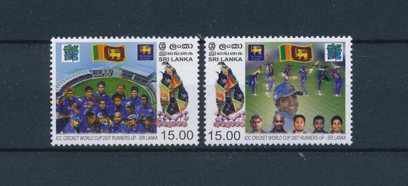 [57949] Sri Lanka 2007 Cricket MNH