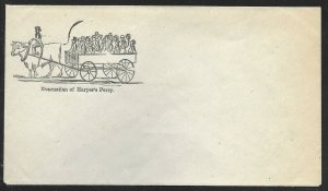 C-A-10 EVACUATION OF HARPER'S FERRY PATRIOTIC COVER VF-XF BV3415