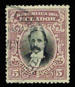 Ecuador Scott 144 Used.