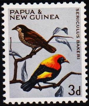 Papua New Guinea.1964 3d S.G.62 Unmounted Mint