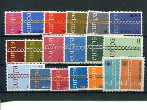 Europa 1977 selection  including Portugal  VF NH