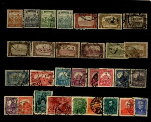 Hungary  1918 - 40 Stamp Selection Used & Unused 30 Stamps F