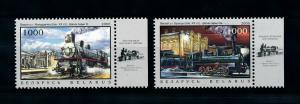 [100626] Belarus 2006 Railway Train Eisenbahn  MNH