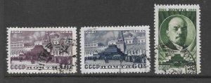 Russia Scott 1197-1199 Used complete set Lenin stamps  2017 CV $9.00