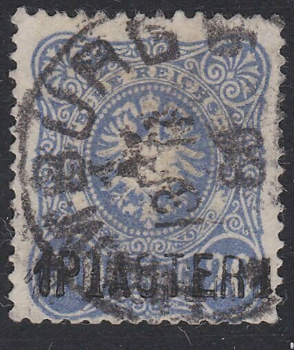 GERMAN PO IN LEVANT  An old forgery of a classic stamp  ....................D925