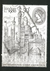 Great Britain Scott 909 used 1980 London View stamp