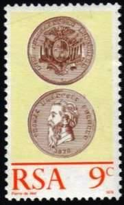 South Africa - 1974 Centenary of Burgerspond MNH** SG 342