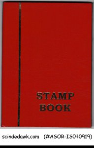 COLLECTION OF ISRAEL STAMPS with TABS IN SMALL STOCK BOOK
