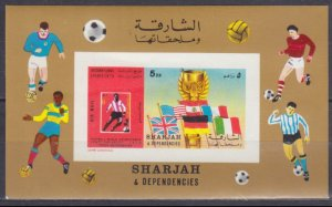 1970 Sharjah A653/B65b 1970 FIFA World Cup in Mexico 10,00 €