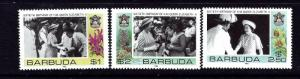 Barbuda 779-81 MNH 1986 QEII 60th Birthday