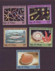 Isle of Man  Sc 509-13 1992 Port Erin Marine Lab stamp set mint NH