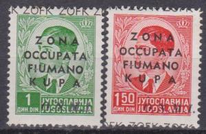 Yugoslavia Italy Occupation Fiume Kupa 1941 Signed (B10345)