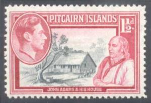 Pitcairn Islands ~ #3 ~ John Adams ~ MH