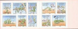 Namibia - 1999 Yoka the Snake Cartoon - 10 Stamp Booklet - Scott #931a