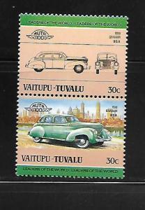 VAITUPU-TUVALU, 9, MNH, CAR TYPE