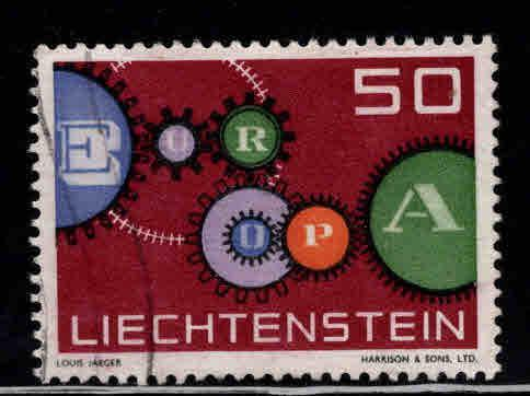 LIECHTENSTEIN Scott 368 Used Europa stamp