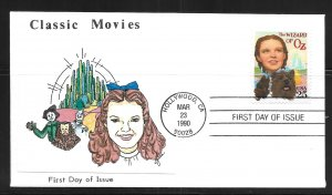 United States 2445 Wizard of Oz First Day Cover FDC (z7)