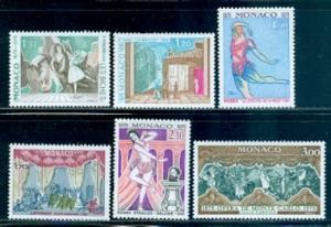 Monaco #1181-1186  MNH  Scott $11.15