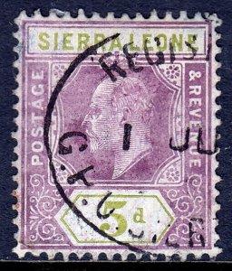 Sierra Leone - Scott #97 - Used - SCV $5.75