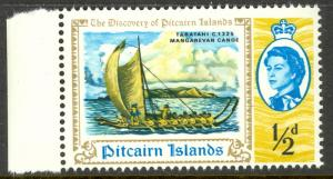 PITCAIRN ISLANDS 1967 1/2d Discovery of Pitcairn Island Issue Sc 67 MNH