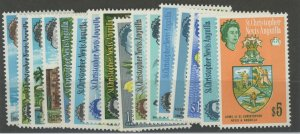 St. Christopher Nevis Anguilla 145-60 ** mint NH (2110 9)