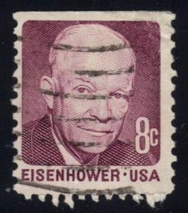 US #1395 Dwight D. Eisenhower, used (0.25)