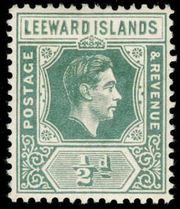 LEEWARD ISLANDS SG97, ½d slate-grey, M MINT.