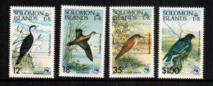 Solomon Islands  535 - 538  MNH $ 4.50