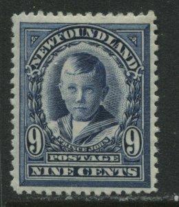 Newfoundland 1911 Royal Family 9 cents mint o.g. hinged