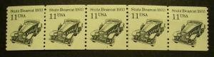 Scott 2131, 11 cent Strutz Bearcat, PNC5, #1, MNH