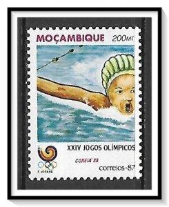 Mozambique #1029 Olympics MNH