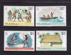 Tuvalu 33-36 MNH Various