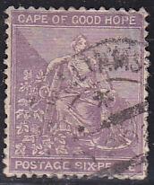 Cape of Good Hope 18A Hope 1864