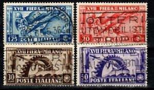 Italy #355-8  F-VF Used CV $5.25  (X1316)