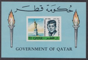 Qatar # 102B, John F. Kennedy Memorial, NH, 1/2 Cat.