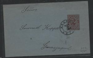 ECUADOR (PP0303B) SE 2C 1894 TO GUAYAQUIL  HG2
