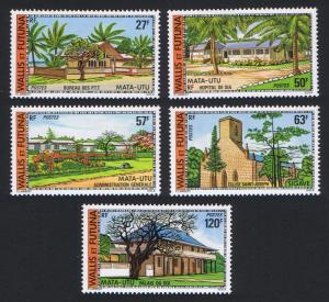 Wallis and Futuna Buildings and Monuments 5v SG#271-275 SC#200-204