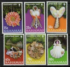 BAHAMAS SG1468/73 2007 CHRISTMAS MNH